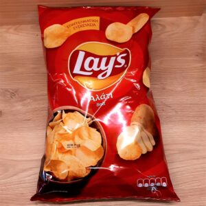 LAY'S, SALTED CHIPS, Winepoems.gr, Κάβα Γκάφας