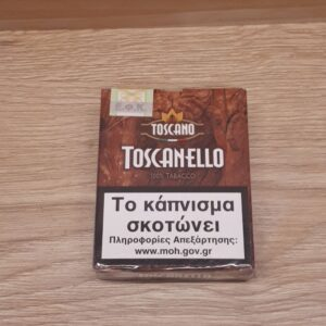TOSCANELLO, TABACCO 100%, Winepoems.gr, Κάβα Γκάφας