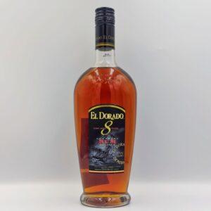 EL DORADO, 8 YO, RUM, Winepoems.gr, Κάβα Γκάφας