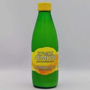 LEMON JUICE, WITHOUT ADDING WATER, 0.2Lt, Winepoems.gr, Κάβα Γκάφας