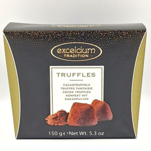 TRUFFLES, EXCELCIUM TRADITION, CACAO, 150gr, Κάβα Γκάφας, Winepoems.gr